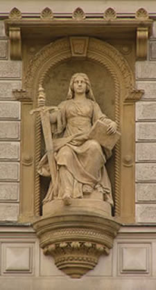 Columbia Center of Psychiatric  Image - Lady of Justice